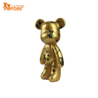 Bear Toy PVC Plastic Type Toy Cool Design Doll Cell Phone Holder Gift For Kids