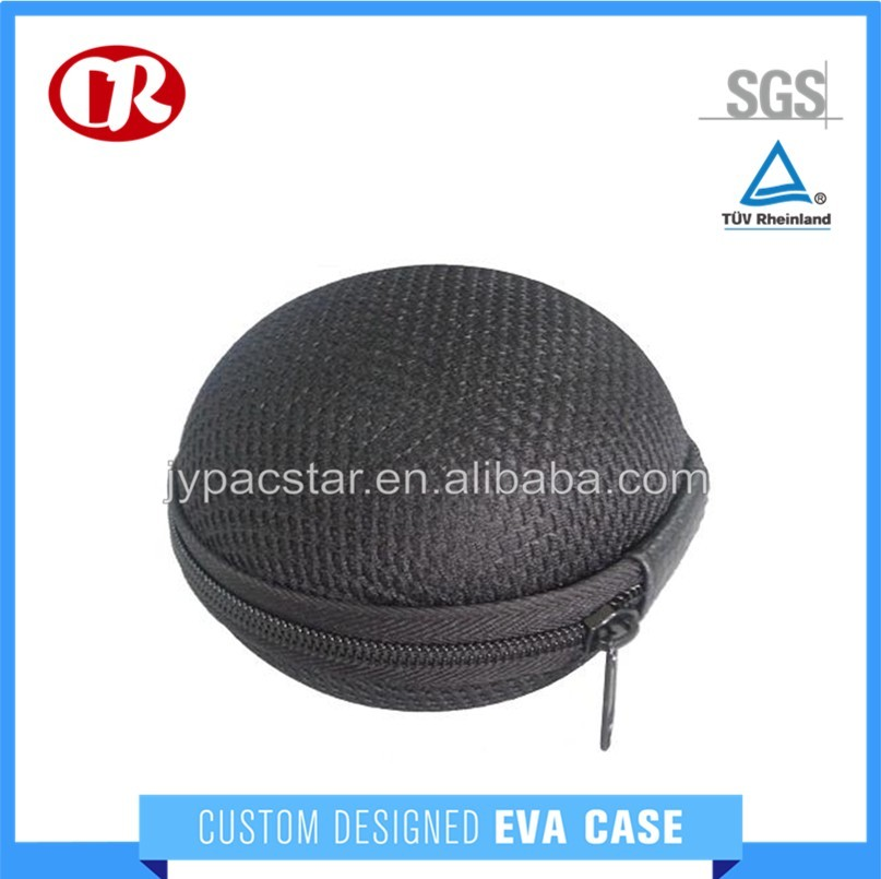 Custom mesh cloth surface zipper close small round other case
