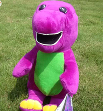 promotional custom barney plush toy