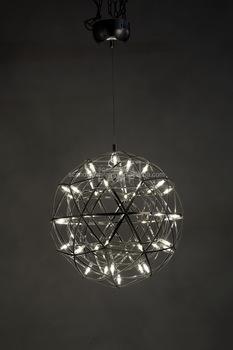 Factory Artistic Pendant Lamp Metallic Orb Ceiling Light Funky ...