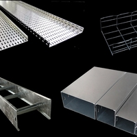 Galvanized steel wire cable duct electrical perforated cable tray