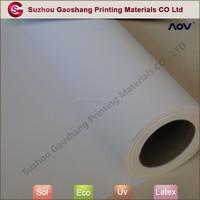 Inkjet polyester printing canvas paper
