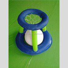 Plastic inflatable swimming pool basketball games