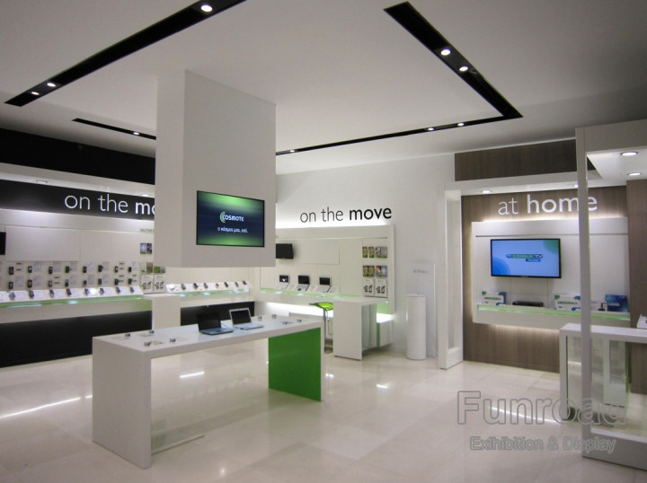 Bespoke Electronics Display Store Mobile Phone Shop Interior Design
