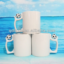 Football Temperature Color Change Cup, Sublimation Magic Mug,sublimation photo color changing mug