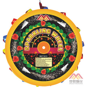 Hotselling Liuyang Fireworks Circus Spinner Wheel