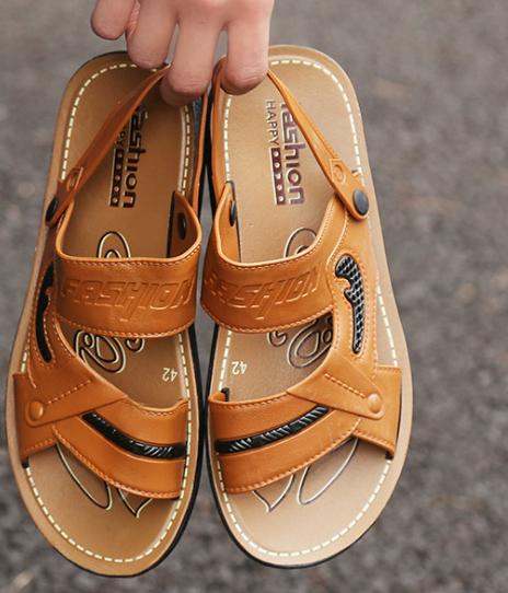 2018 Summer Latest Design Beach Fashion Cheap Durable Yellow Black Man Sandals Buy Man Sandals Fashion Sandal 2018 New Design Sandals Product On Alibaba Com