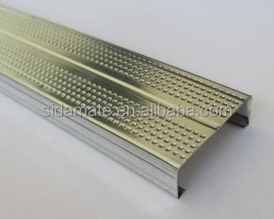 perfiles de acero metal stud u track esquinero ngulo de pared para oficina particin drywall interior