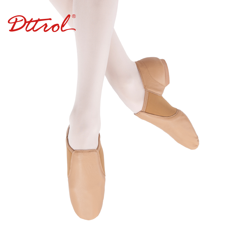 D004716 Dttrol genuine leather jazz dance shoes