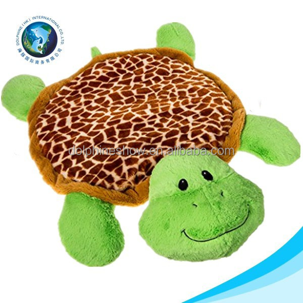 New product mini customize plush sea animal turtle soft cute cheap stuffed plush baby play mat