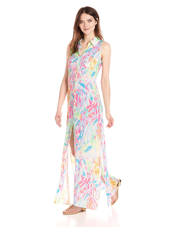 Lilly Pulitzer Women's Ezra Maxi Beach Dress