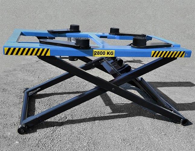 Ponte Sollevatore Auto Idraulico A Forbice 2,8t 380v