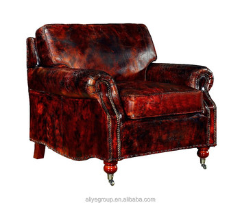 Pk 5061 Antique Single Sofa Upholstered