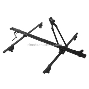 1 bike Aluminum Roof mounting removable car roof bike rack