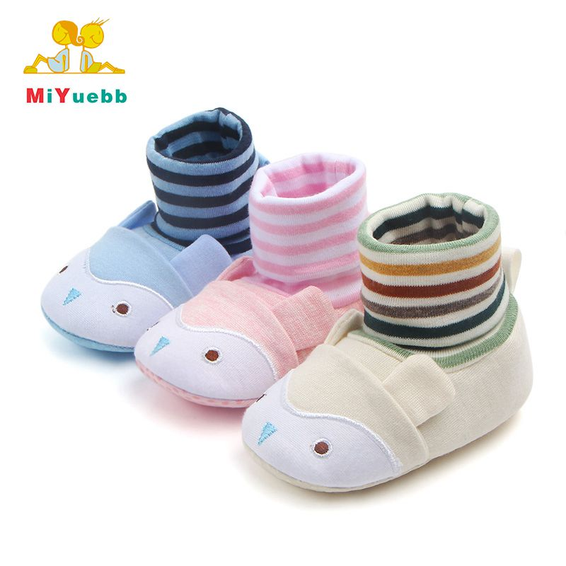 New Cute Cotton Baby Crochet Sock Shoes 0-1 year