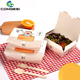 Disposable paper packaging take away lunch box_Salad packaging_ Take Away Fast Hot Food Kraft Paper Packaging Boxes