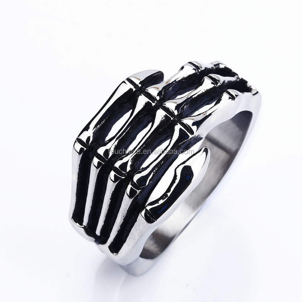 TLR0151 Lastest design fashion punk rings claws jewelry design ring for men