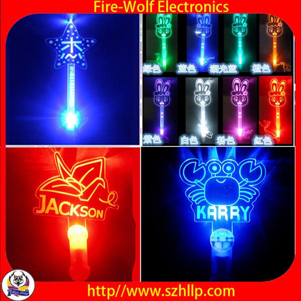 China Wholesales Christmas Gifts Foam Led Glow Stick