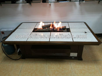 Outdoor Gas Firepit Table/fireplace/firepit Pan/indoor Fireplace ...