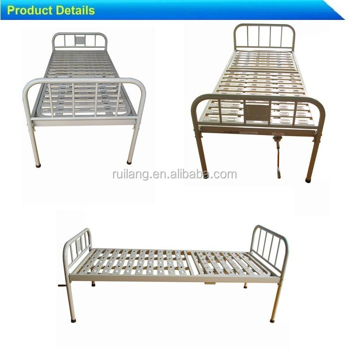 Cheap iron metal hospital frame bunk folding beds for sale for Metal bunk beds for sale cheap