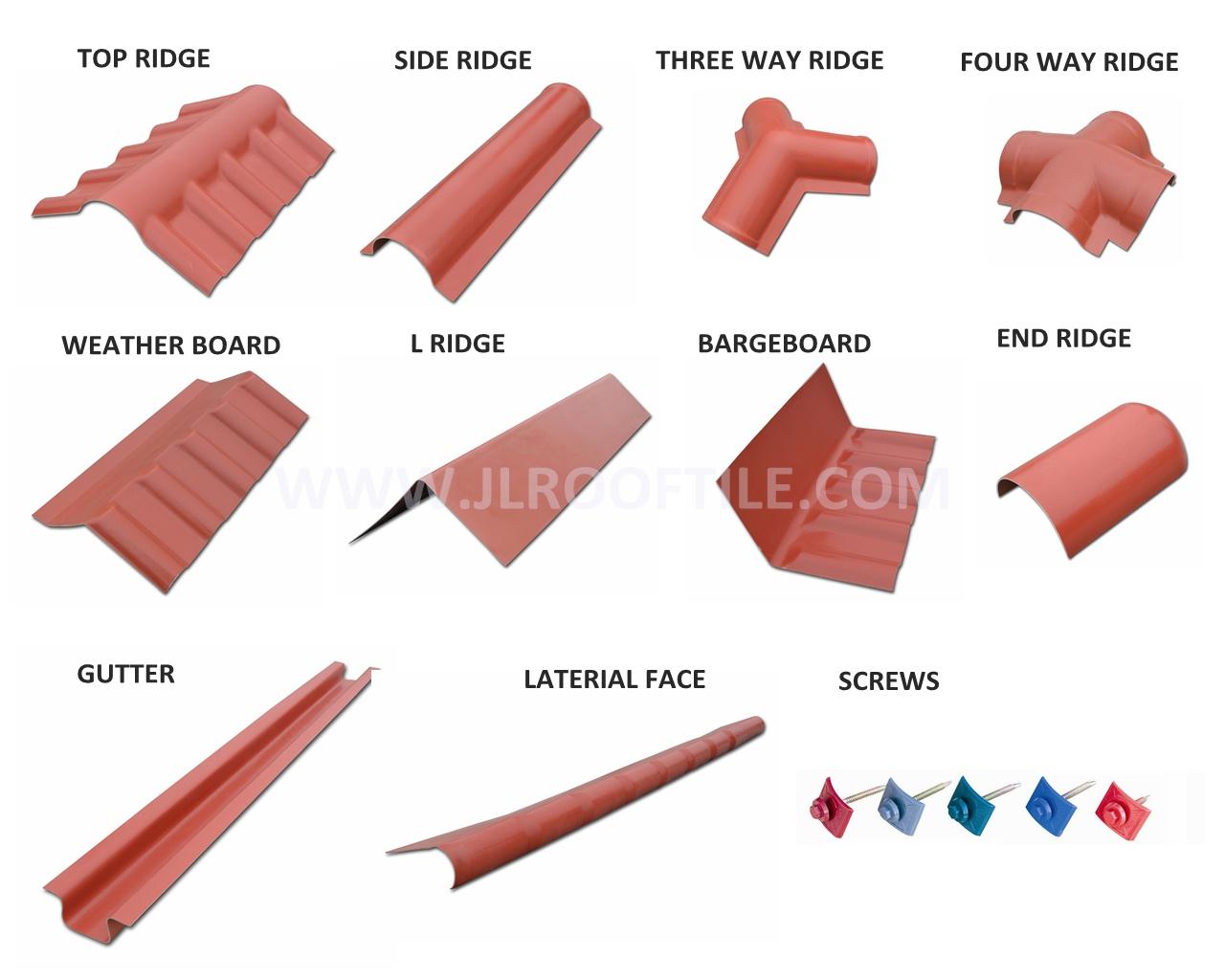Pvc Roof Edge Tile Buy Pvc Ridge Pvc Roof Edge Tile