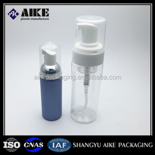 120ml 180ml plastic bottle 50ml cosmetic foam pump bottle