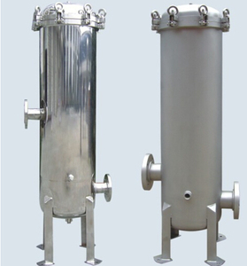 Stainless steel 40 inch 5 micron pp cartridge filter housing
