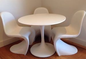 New Arrial Custom Mdf Tulip Table And ChairDining Table And Chair - Custom tulip table