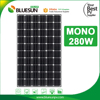 Cheap solar panels china 280w mono solar panel for home