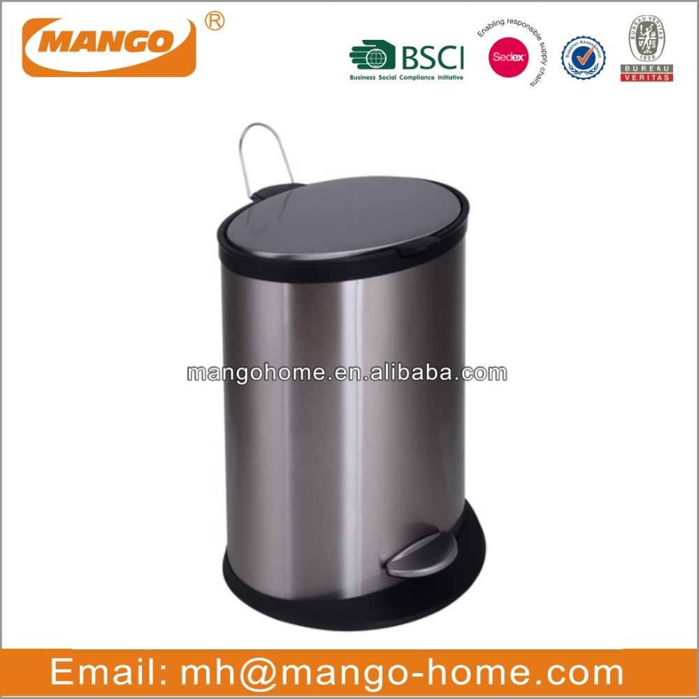 Rectangle Stainless Steel Induction Waste Bin