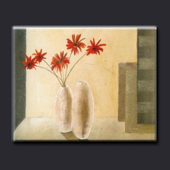 Simple Modern Wall Art Flower Vase Painting Designs - Buy Flower ...