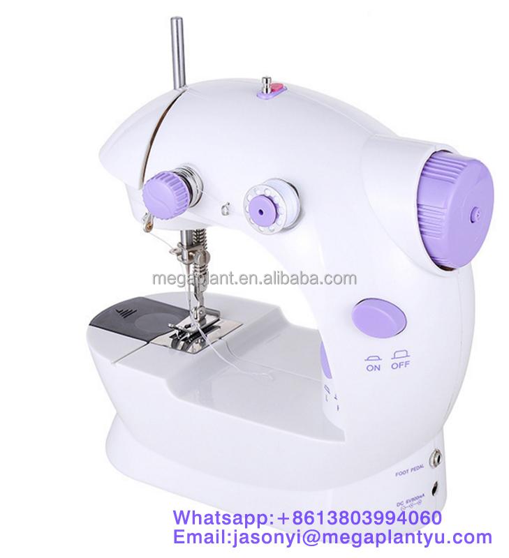 mini lectrique portable de bureau machine coudre main m nage machine coudre machine. Black Bedroom Furniture Sets. Home Design Ideas