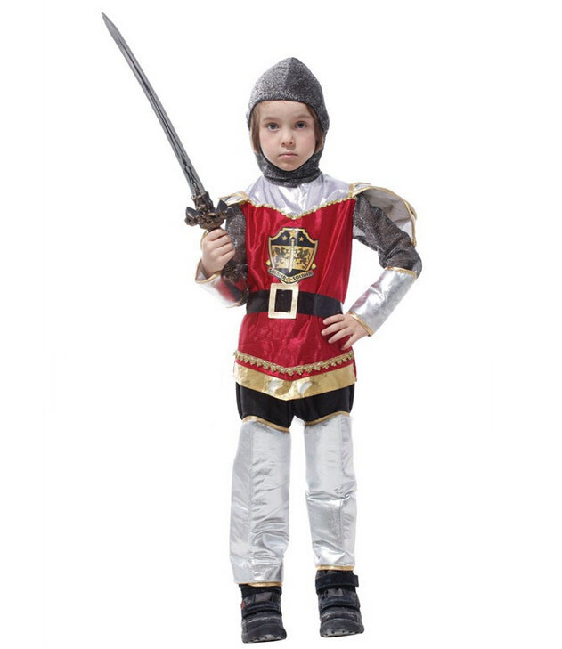 Costumes & Accessories Armour Set Anime Cosplay For Kids Weapon Set Warrior And Sword Knight Vestidos Costumes For Children In Halloween Carnival Party