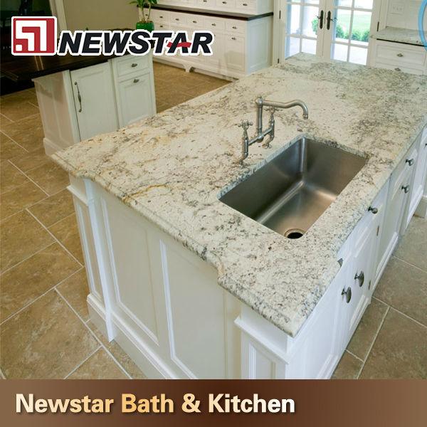White Bianco Romano Granite Stone Countertop