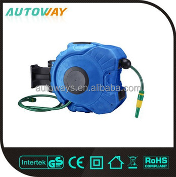 automatic pp shell retractable garden hose reel - Retractable Garden Hose Reel