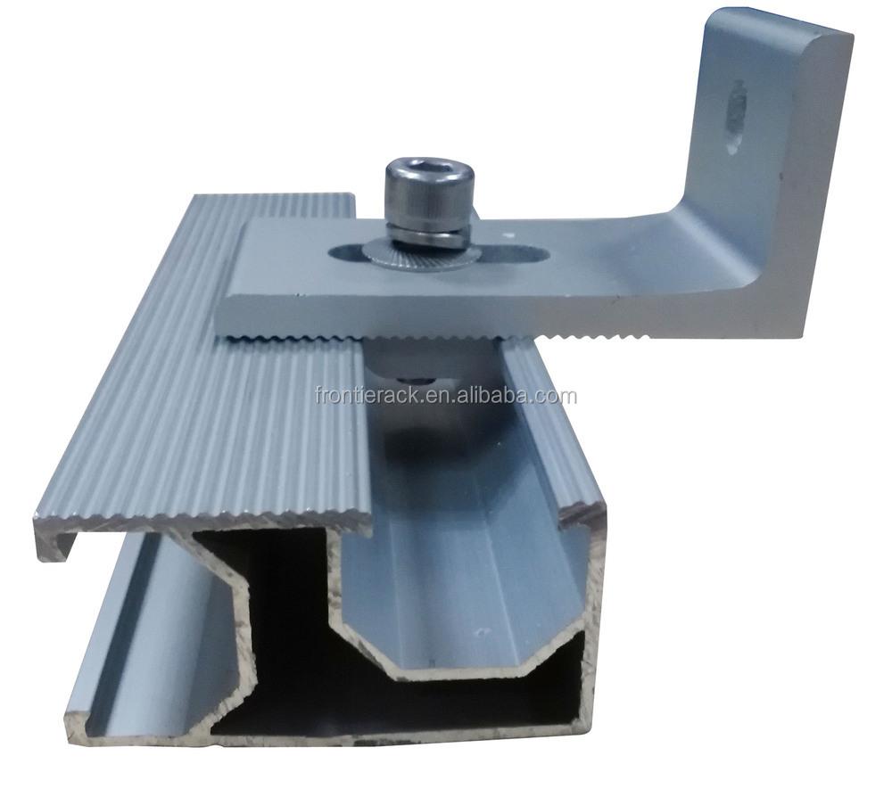 Aluminum Solar Panel Mounting Rails Buy Solar Panel