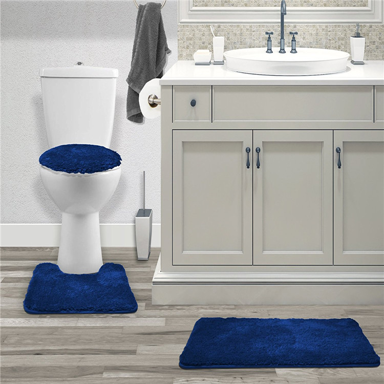 गैर पर्ची कस्टम आकार शौचालय सीट कुशन मैट आसनों