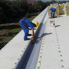 1.5mm PVC waterproof membrane for single ply roofing system