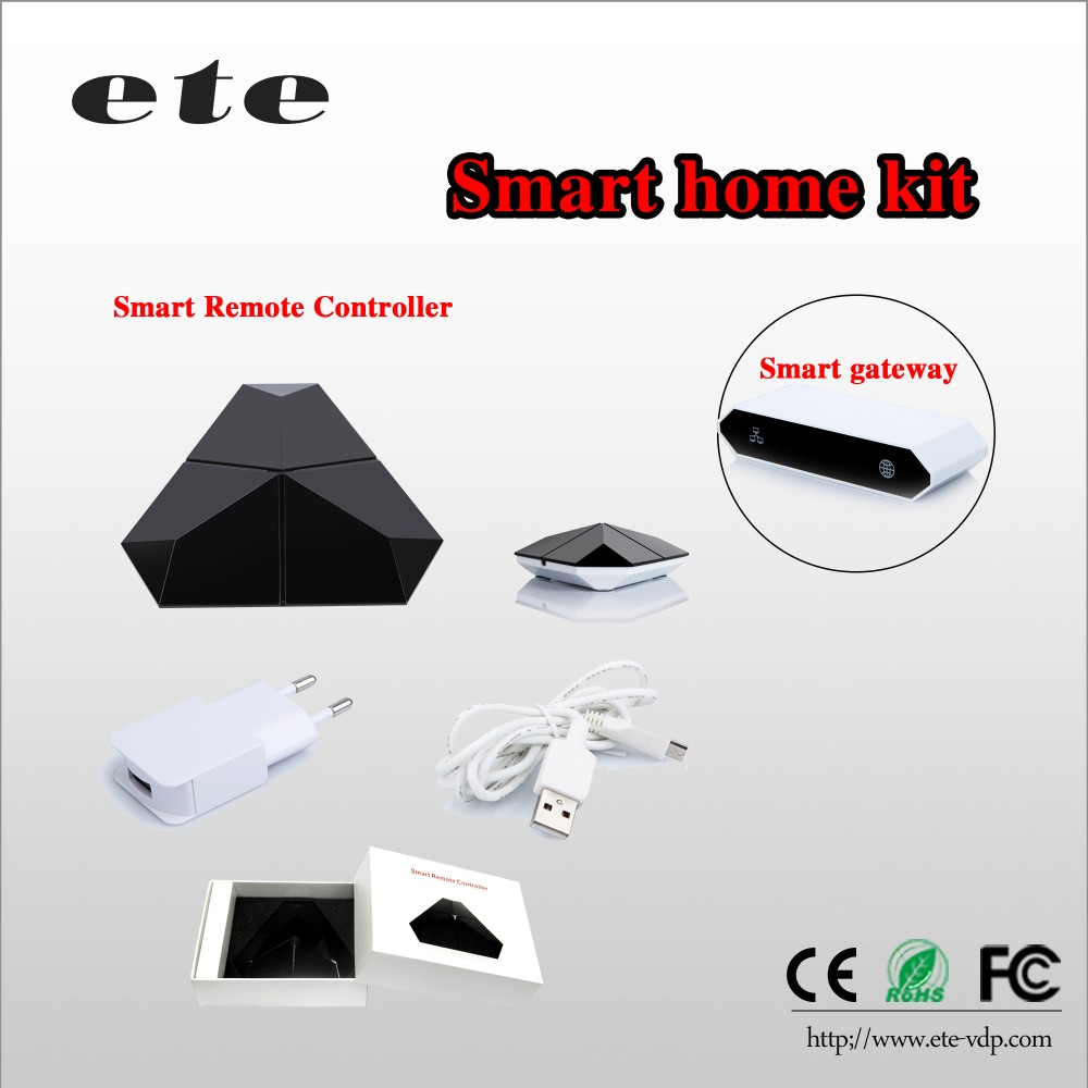 Smart home access control system home automation zigbee switch ir ceiling fan universal remote controller