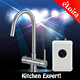 Stainless steel instantaneous water heater faucet mount hot water faucet instant hot water tap
