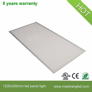 High power Low consumption 65w 300 X 1200 led panel light square
