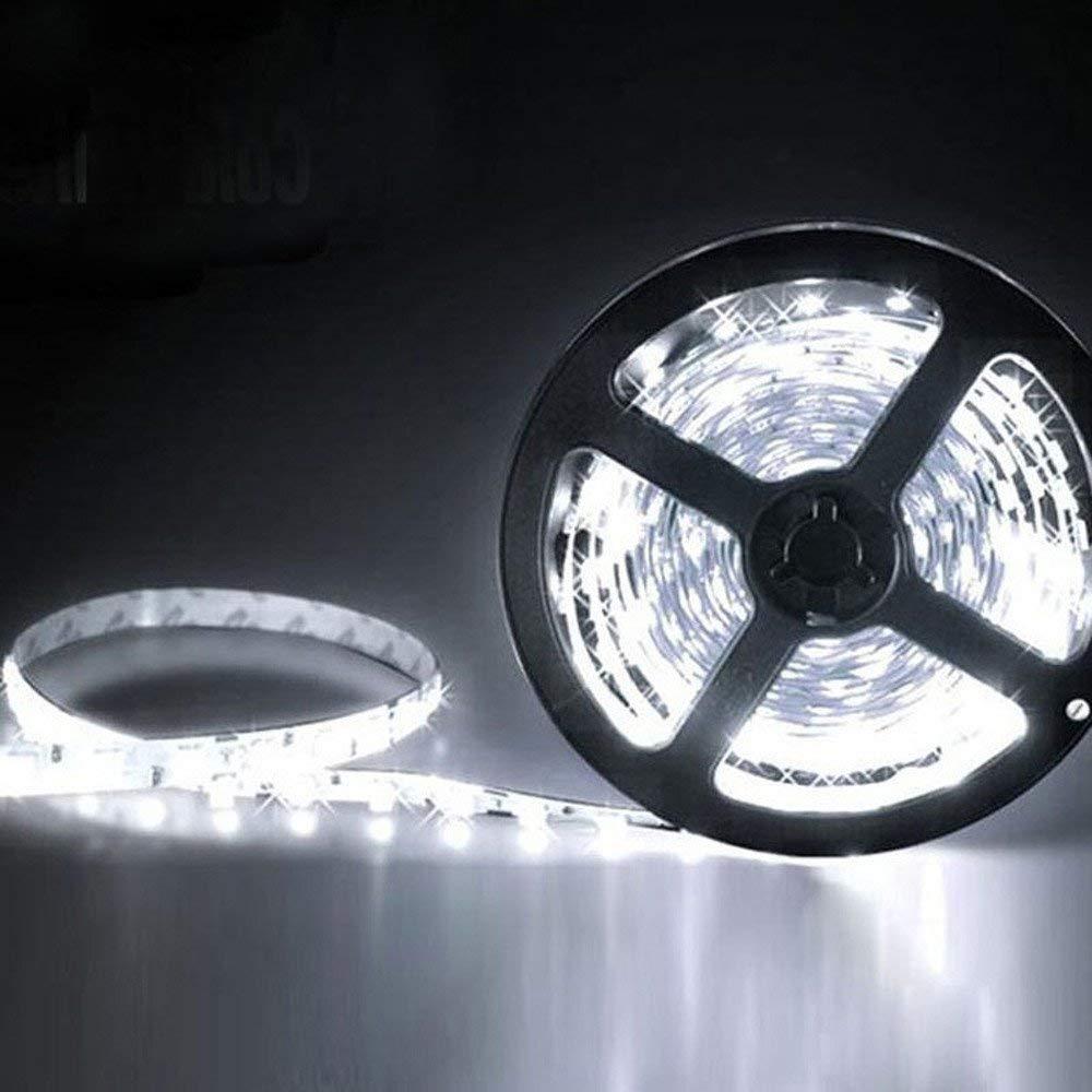 Faber3 LED Flexible Light Strip LED Strip Lights LED Lights 5M LED Light Strip 300 LED Lights Non Waterproof Flexible Warm LED Rope Lights Strip Lights for Kitchen Bedroom Car Party (A)