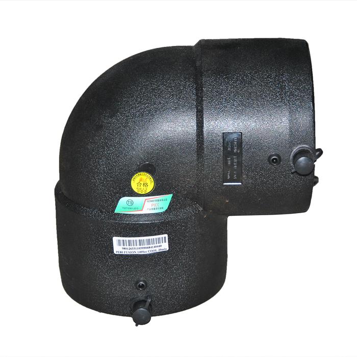 Dn63 electrofusi n codo de 90 grados accesorios de tuber a - Precio tuberia polietileno ...