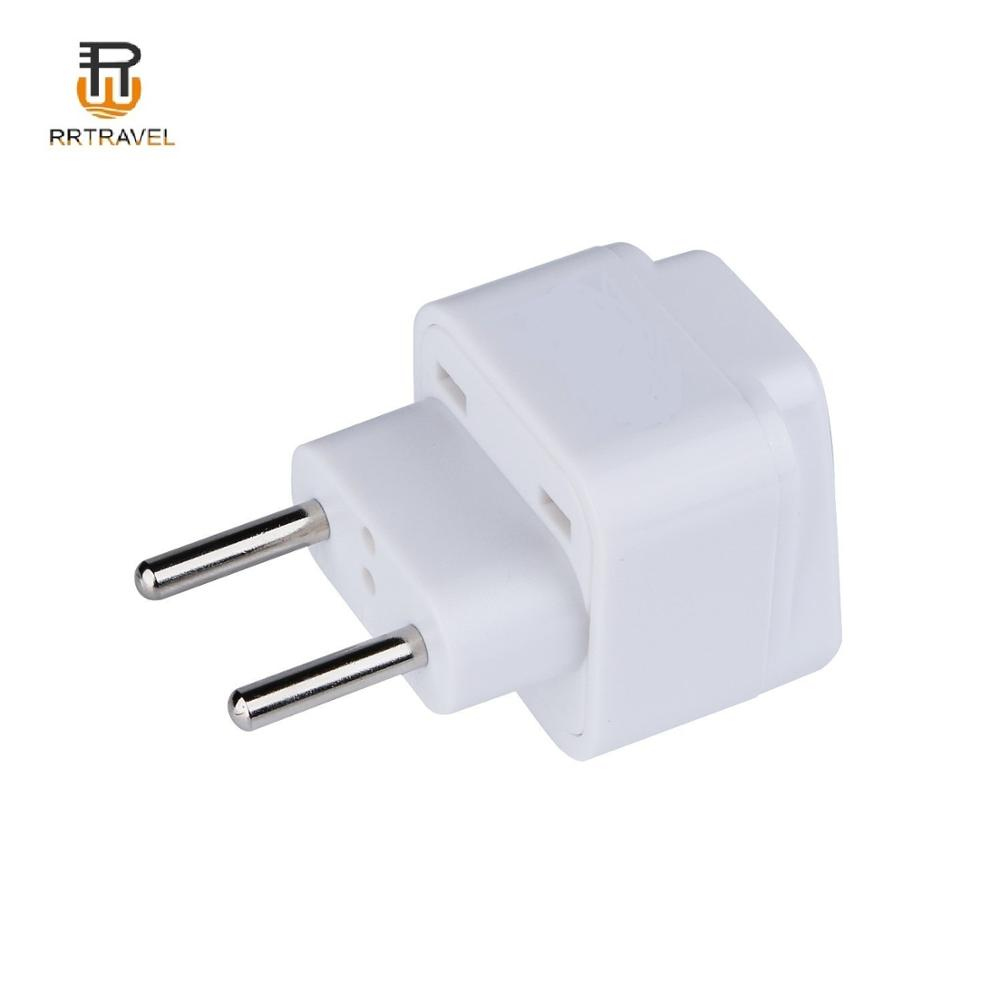 2 in 1 Europeo 2 pin spina rotonda a STATI UNITI REGNO UNITO AUS travel adapter 220v a 110v