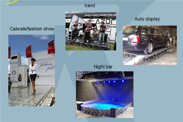2017 Wholesale Portable Stage Platform for Events