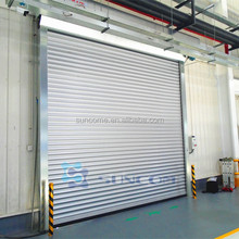 European Intelligence aluminum steel roll up door/aluminum alloy rolling shutter door