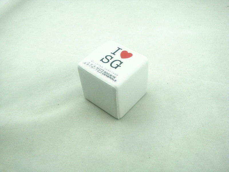Promotional colored foam cube puzzle cube