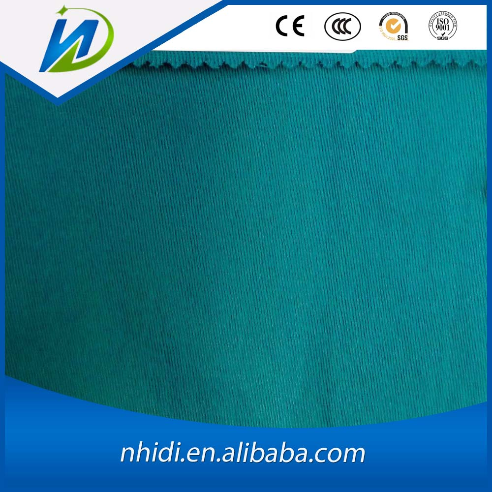 viscose cotton spandex twill plain dyed fabric