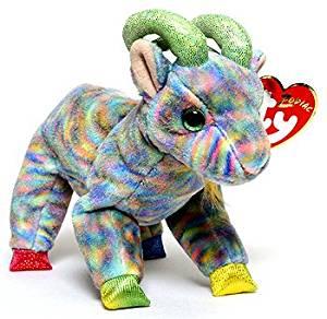96c8f6adc57 Buy TY Beanie Babies Goatee the Goat Stuffed Animal Plush Toy - 6 ...