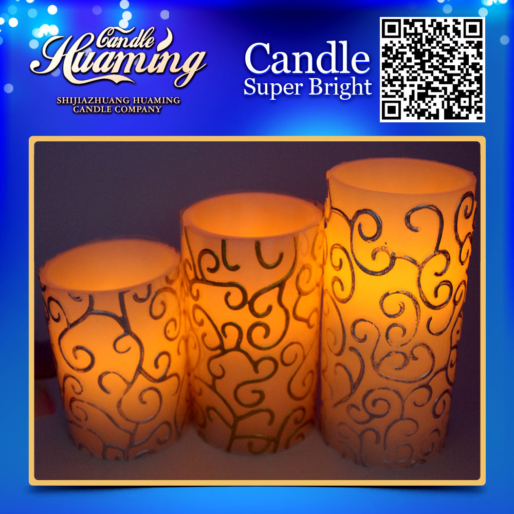 2015 TOP SALE LED CANDLE,3A,3PCS/SET